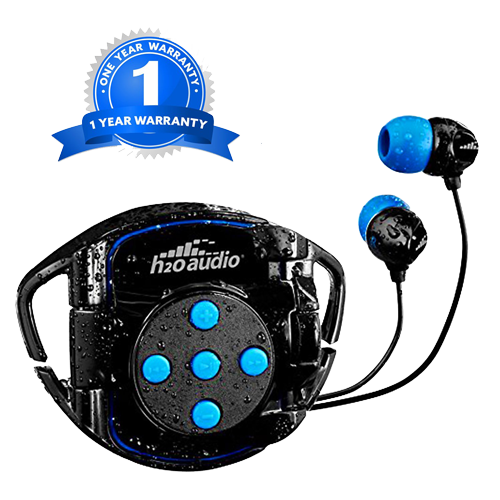 H2o Audio Waterproof headphones and iPod case