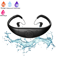 Tayogo Waterproof headphones and MP3 Player