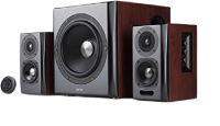 Edifier S350DB Bookshelf Speaker and Subwoofer 2.1 Speaker System Small